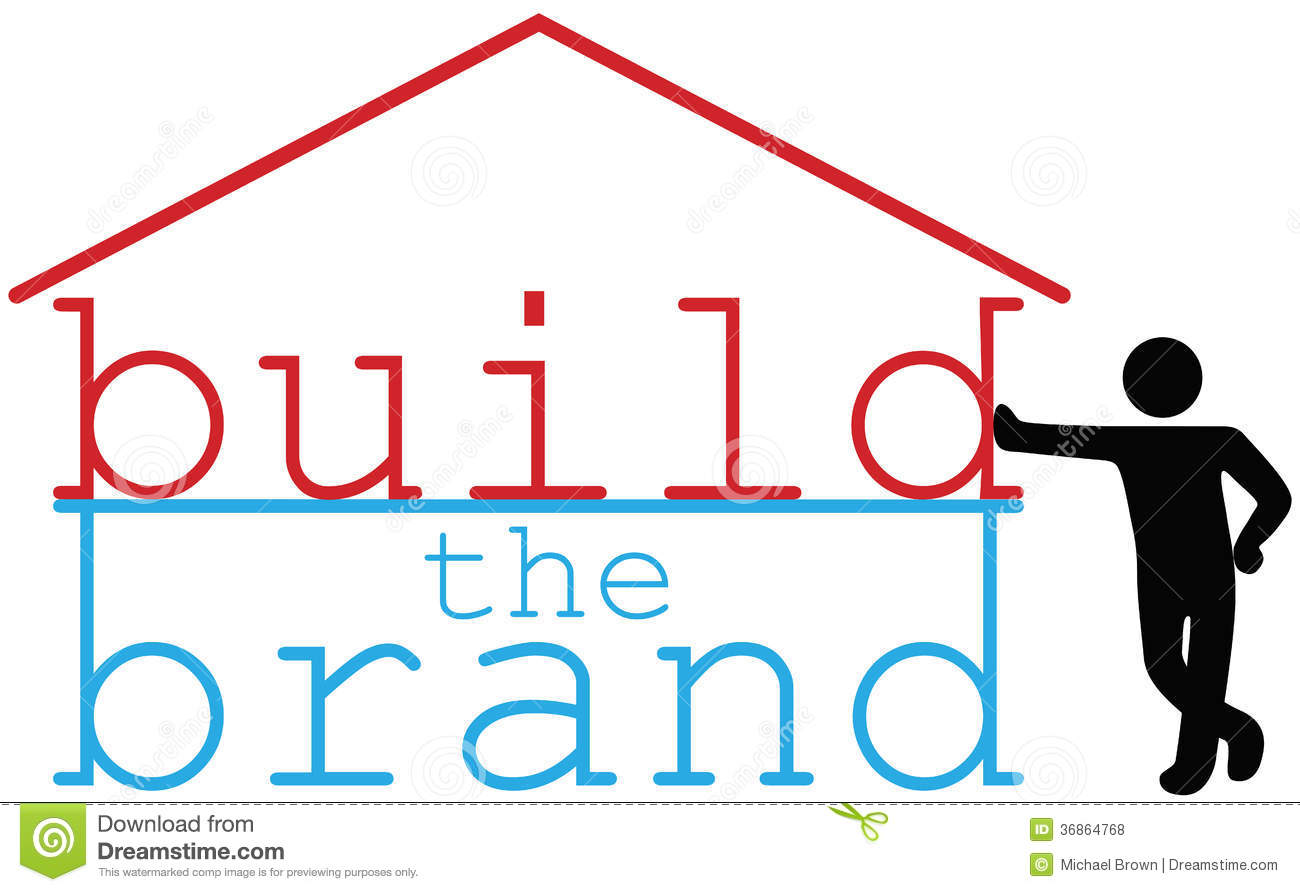 Build business brand promotion person royalty free stock for Brand consultant