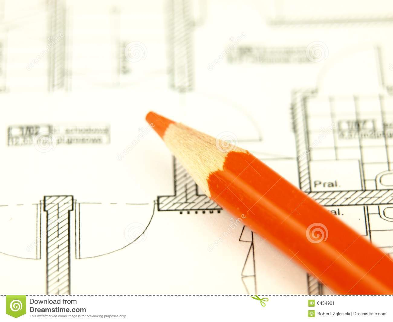Build a house and architect tools stock image image 6454921 for Tools to build a house