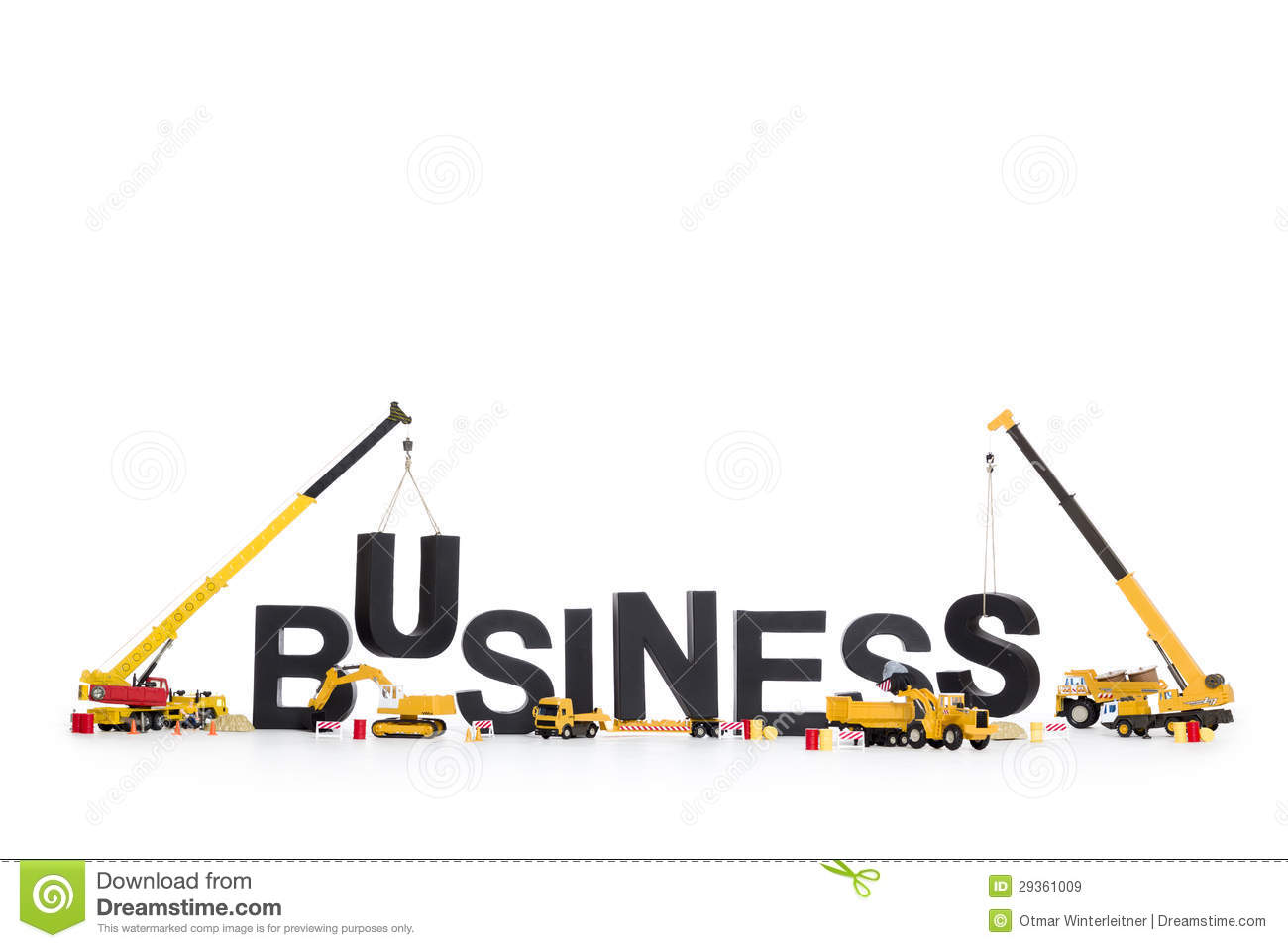 build up a business machines building business wo royalty