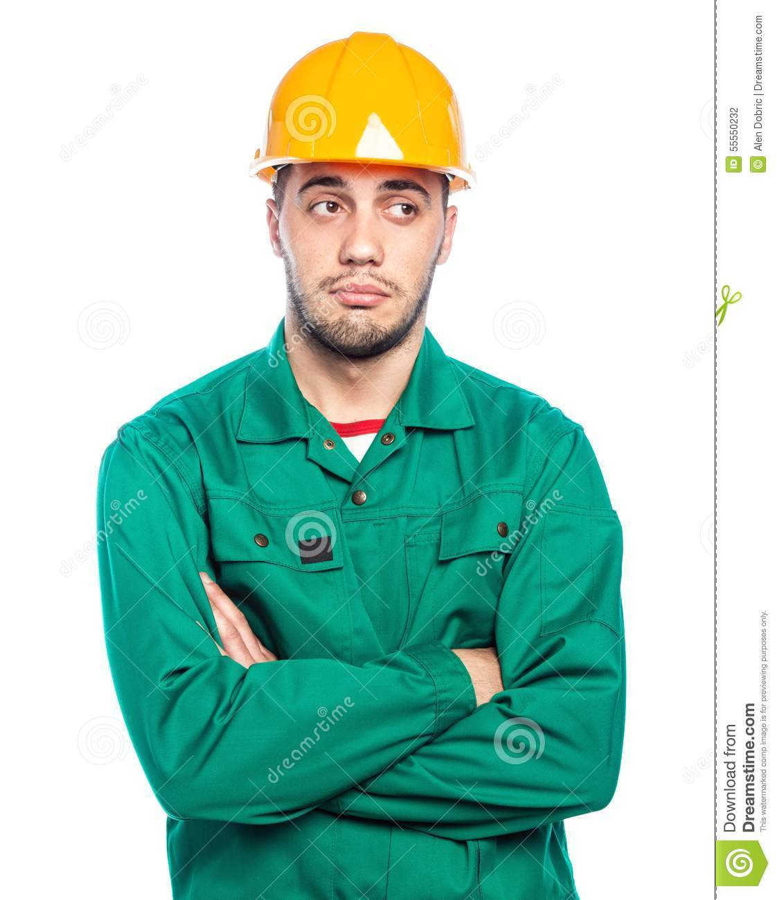 Builder - Construction Worker Stock Photo - Image of ...