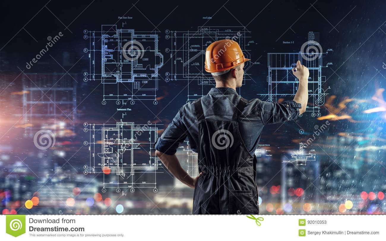 Builder man draw project