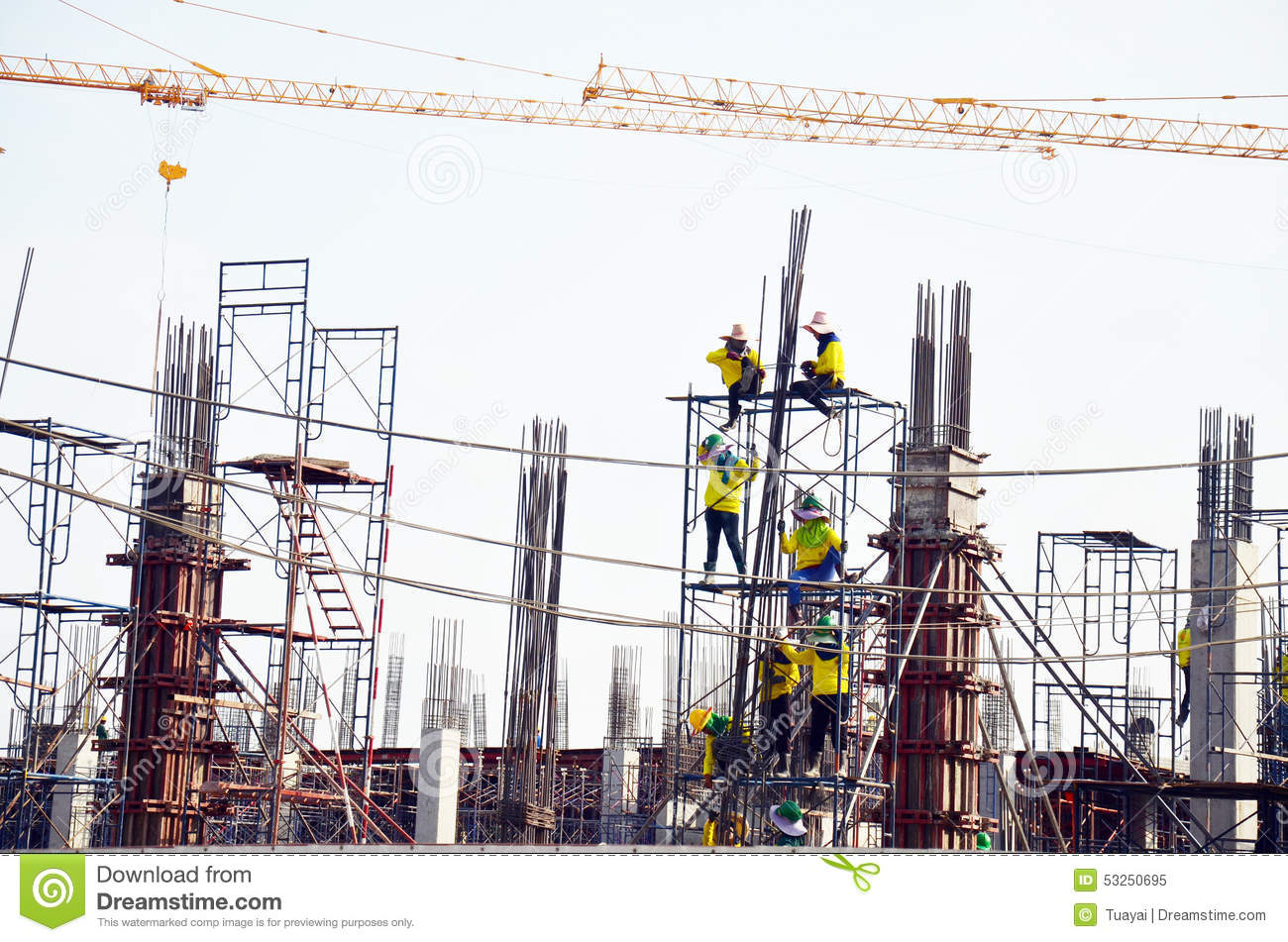 Builder worker with machinery building construction site for Images of building sites