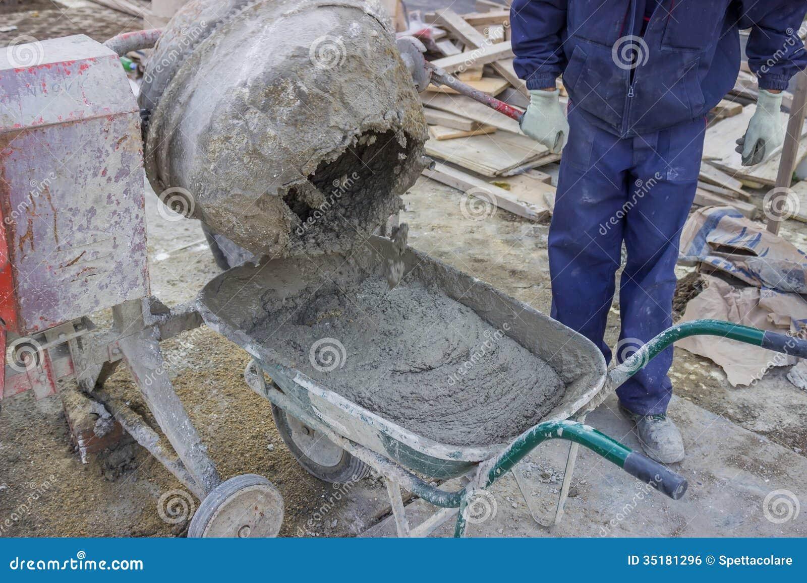 Пропорции раствора бетона своими руками