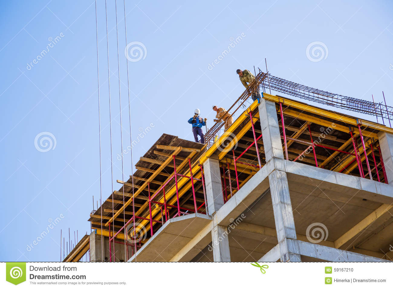 Builders on a top editorial image image 59167210 for Best builder construction