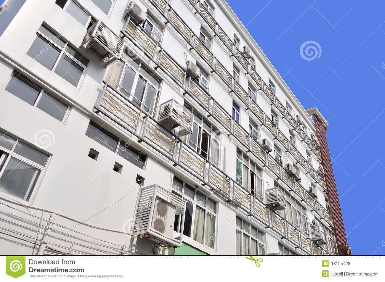 building air conditioning royalty free stock photos image 18195428