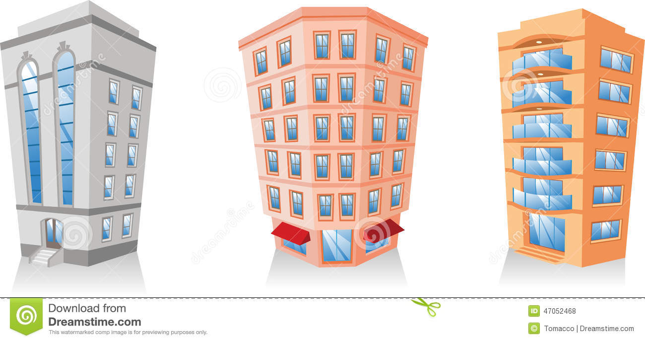 Royalty Free Illustration Download Building Apartment
