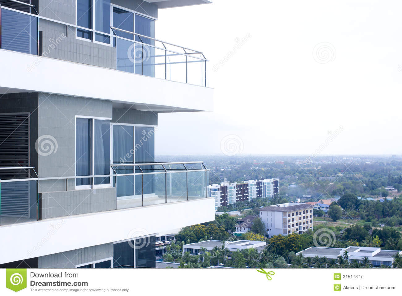 Building balcony royalty free stock photography image for Building balcony
