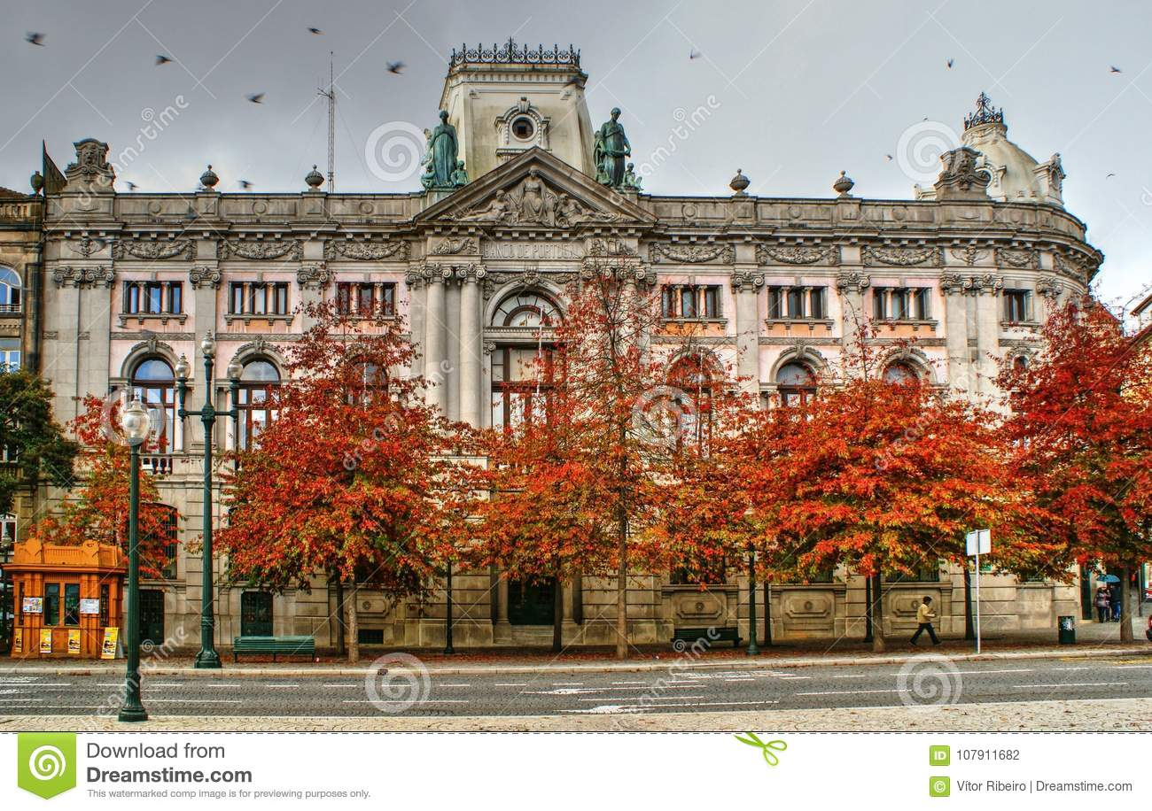 Building of Bank of Portugal