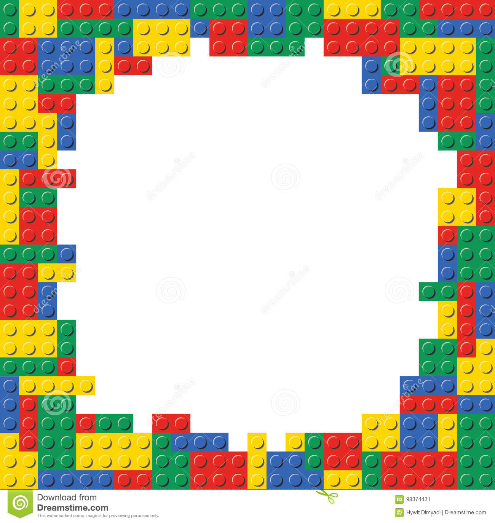 lego blocks border-#4