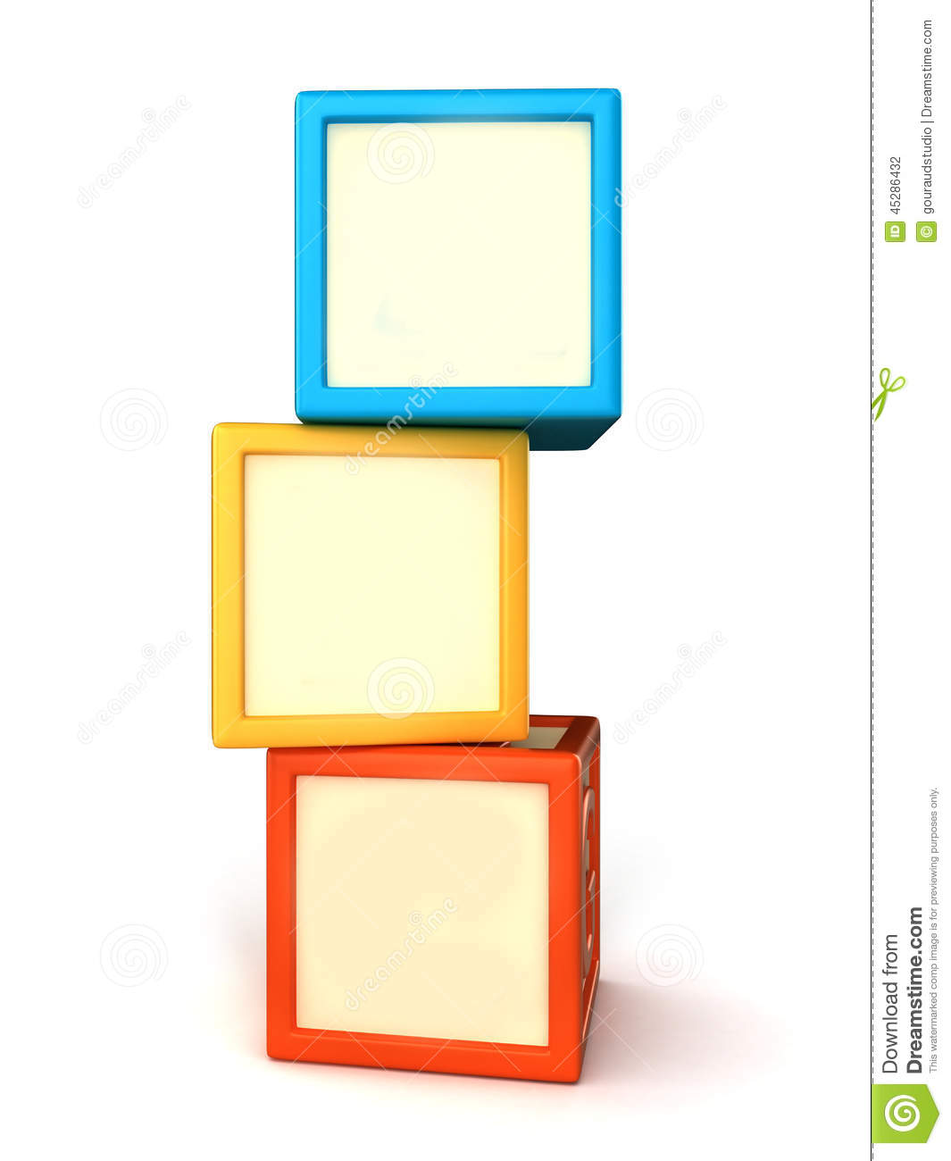 Building Blocks Stock Illustration - Image: 45286432