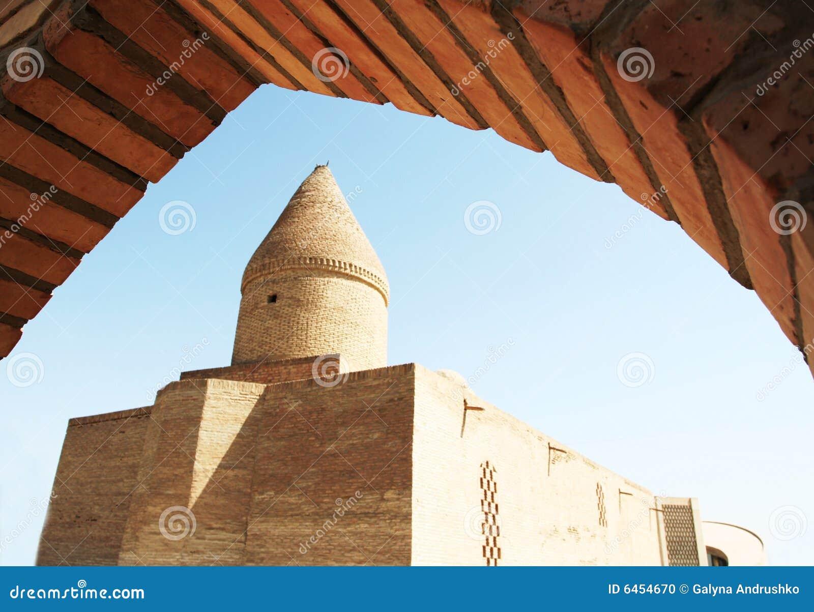 Building in Bukhara