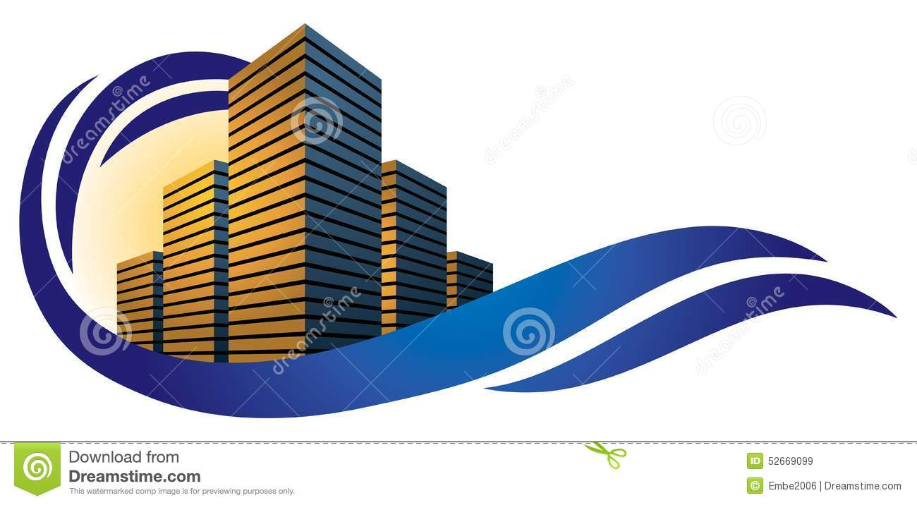 Building City Logo Stock Vector Image Of Real Architect