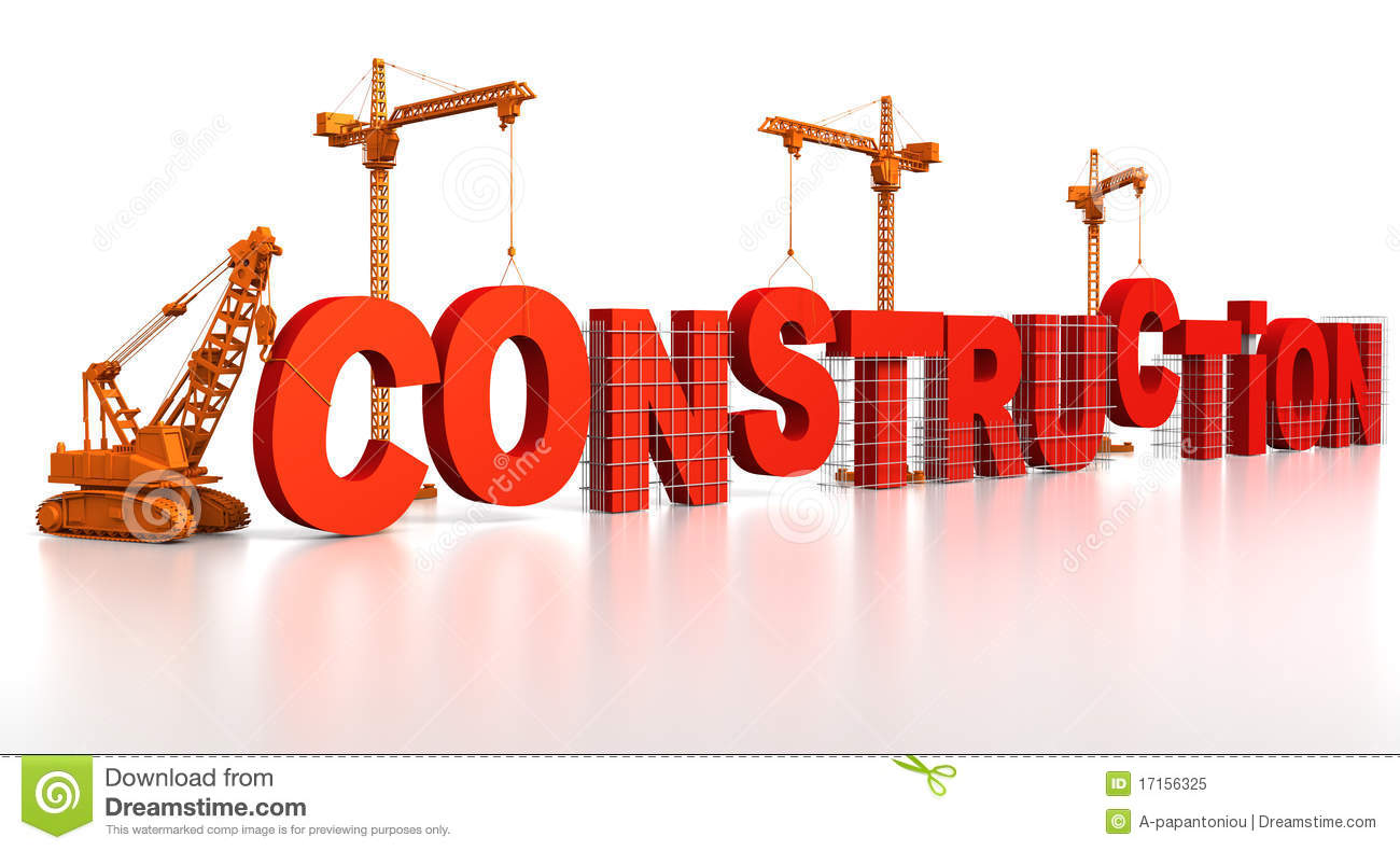 Building Construction Stock Illustration Illustration Of