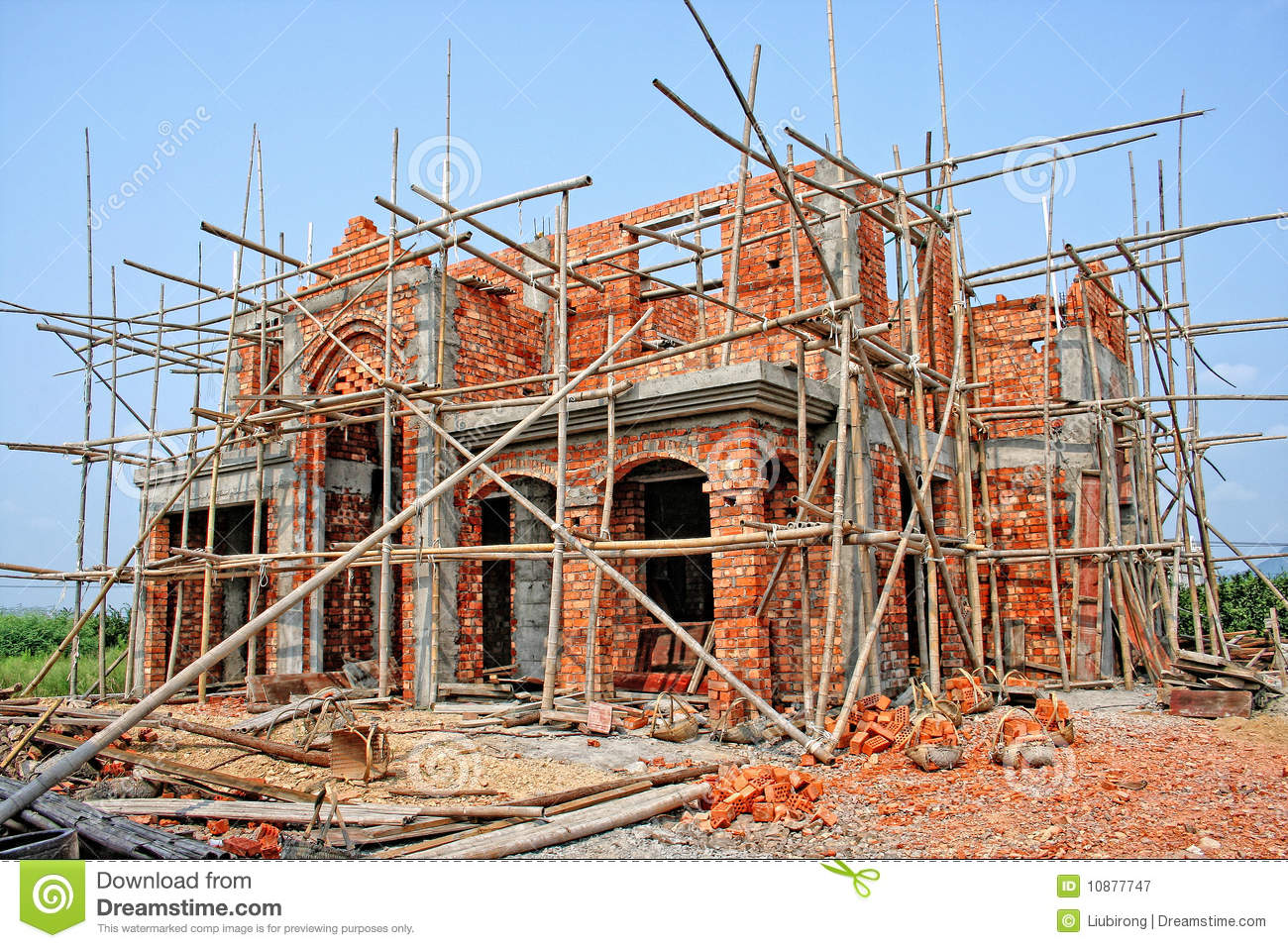 Building Construction Site Royalty Free Stock Photography - Image ...