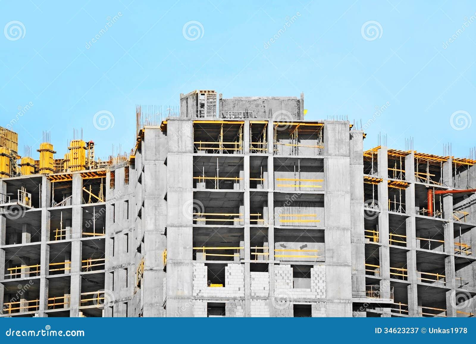 Building Construction Site : Construction site building