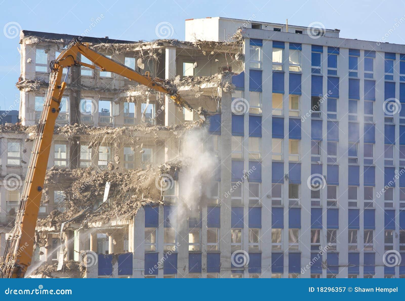 Building Demolition Cartoon : Building demolition stock photography cartoondealer