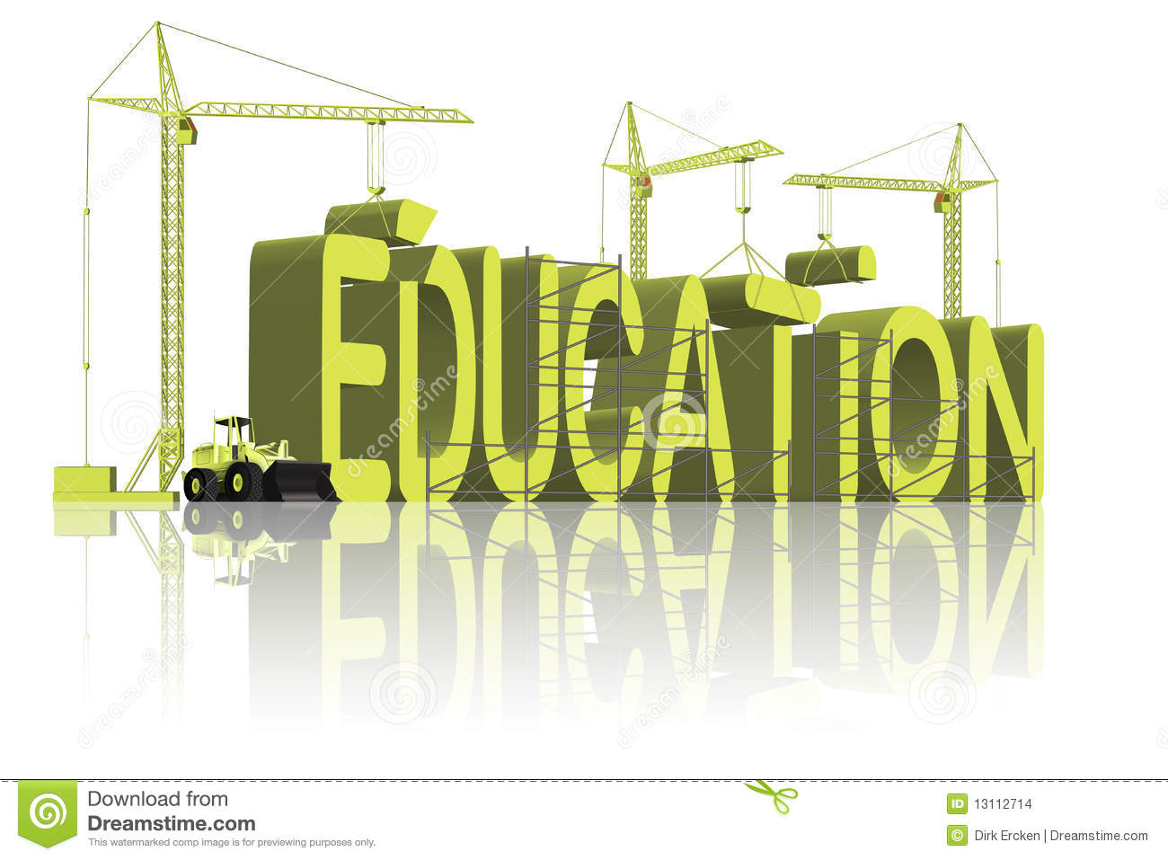 Building education learn knowledge go to school