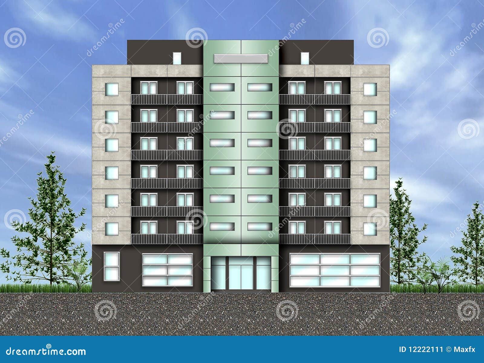 Building Exterior: Building Exterior Stock Image