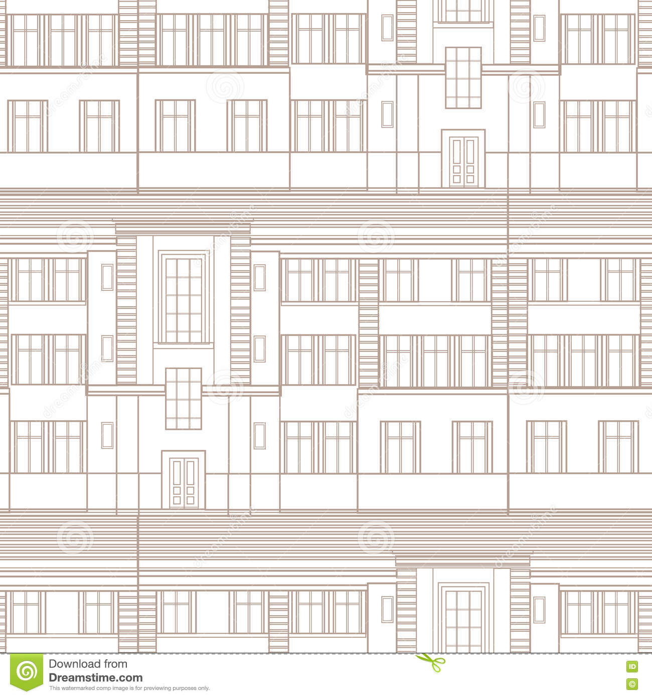 Building facade seamless pattern city architectural retro blueprint download building facade seamless pattern city architectural retro blueprint stock illustration illustration of company malvernweather Gallery