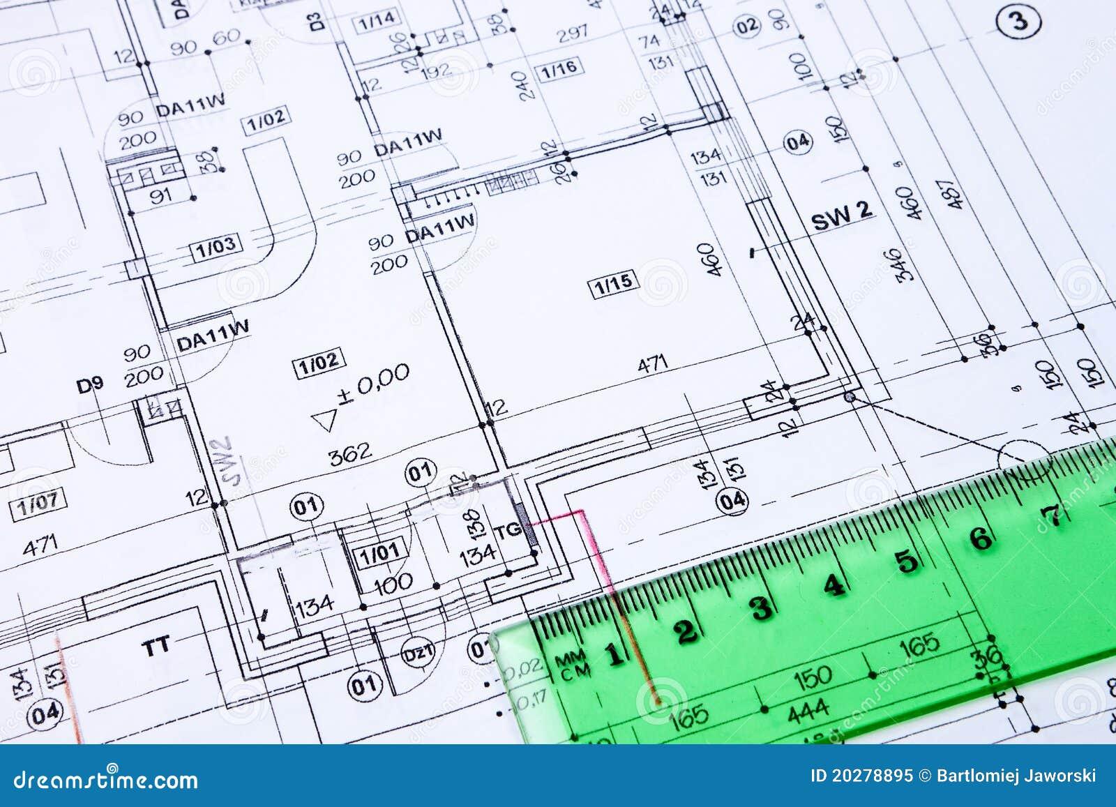Building floor plan.