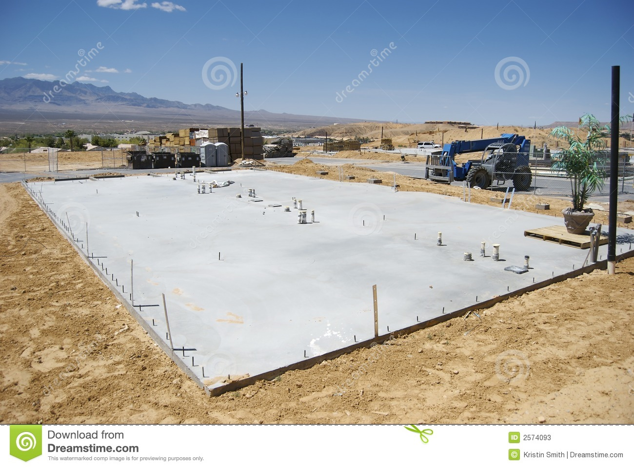 Building foundation royalty free stock photo for Basement foundations construction