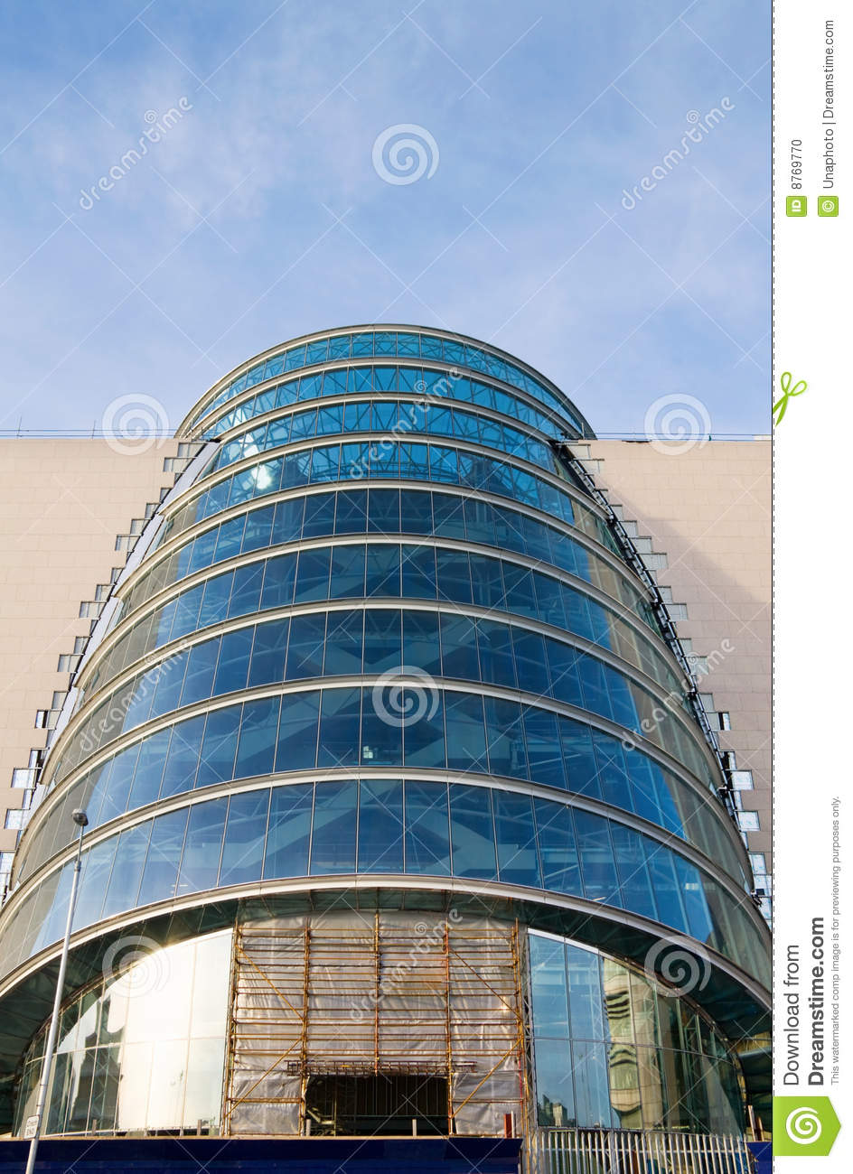 Building The Future With Modern Architecture Stock Photo ...