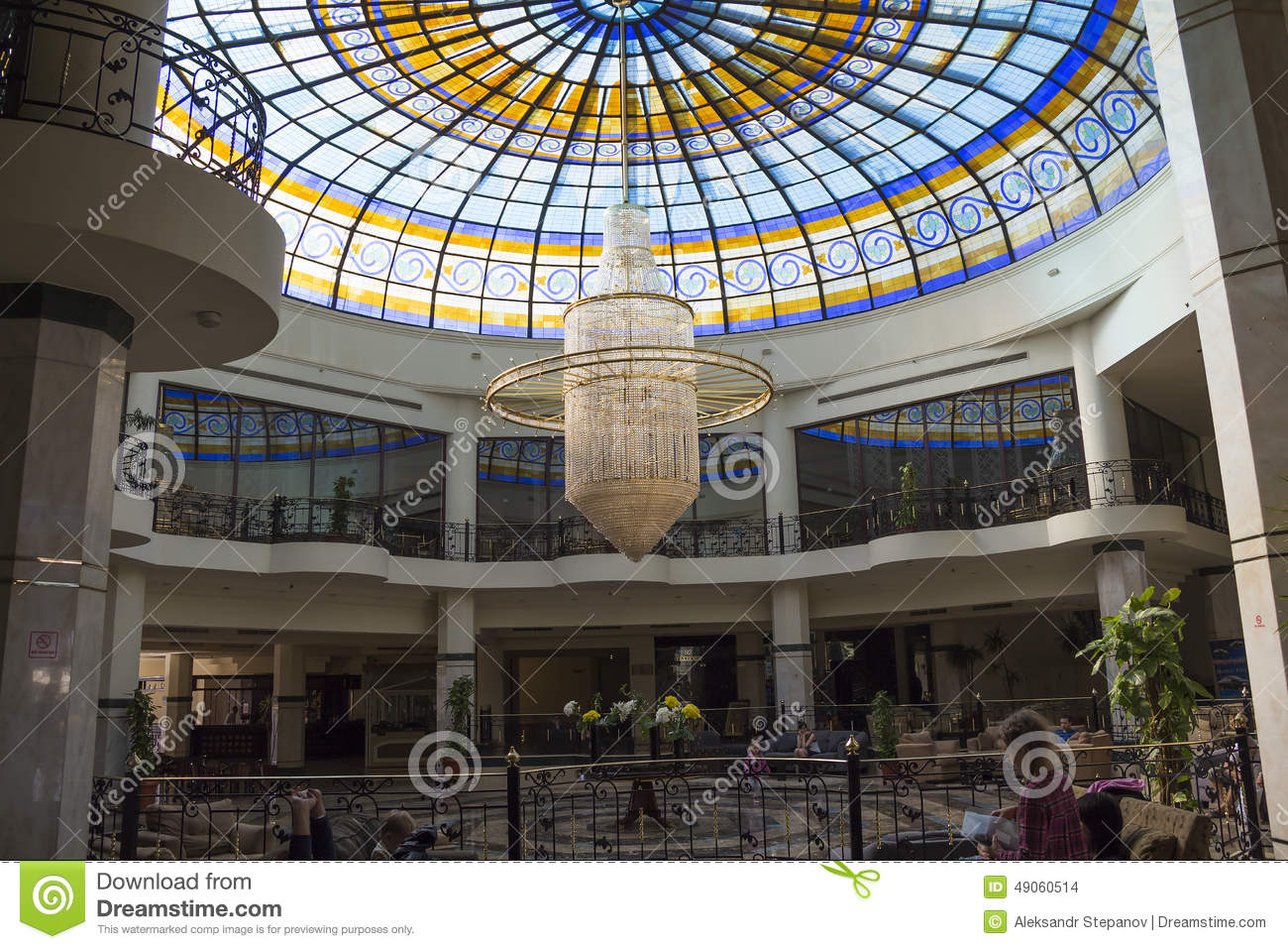 Building grand oasis resort huge chandelier in the hall editorial stock image image 49060514 - Building a chandelier ...