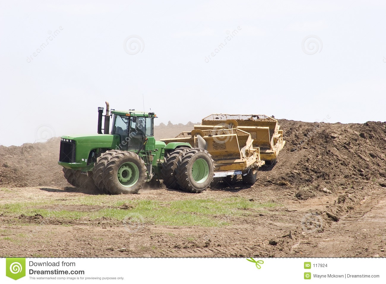 Building a hill
