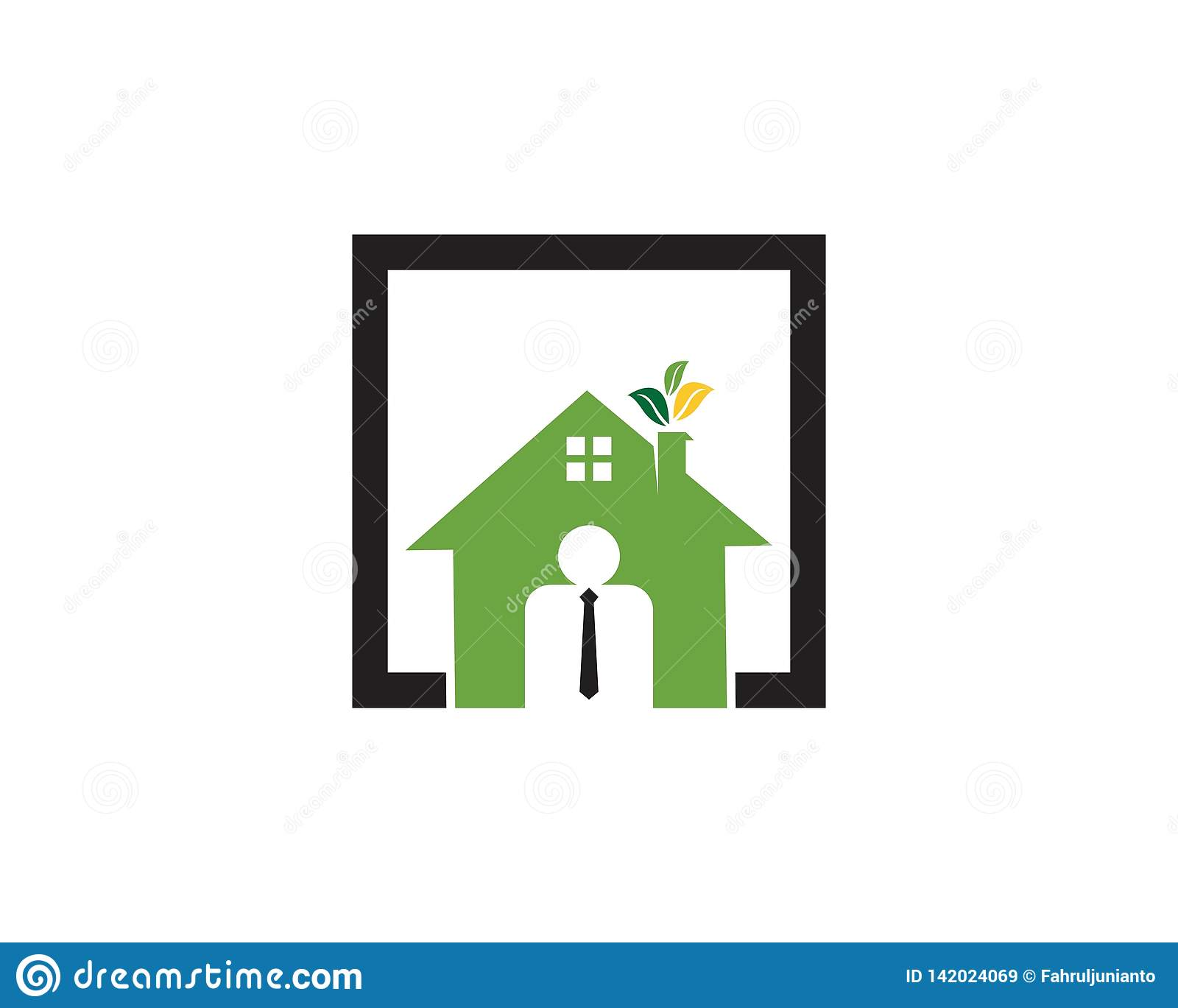 Building home agen logo template