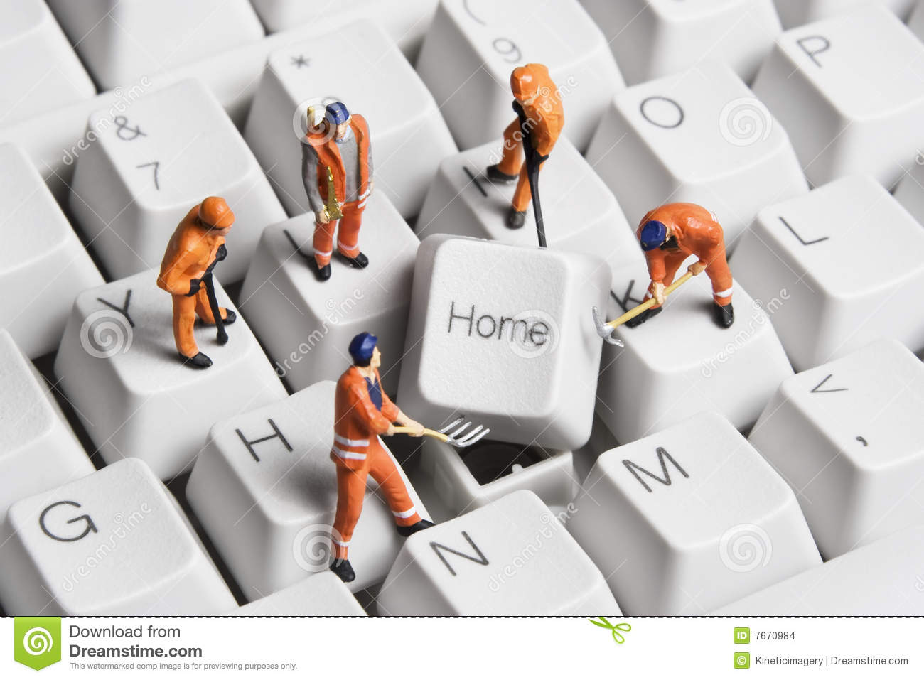 Building A Home Based Business Stock Photo - Image of protect ...