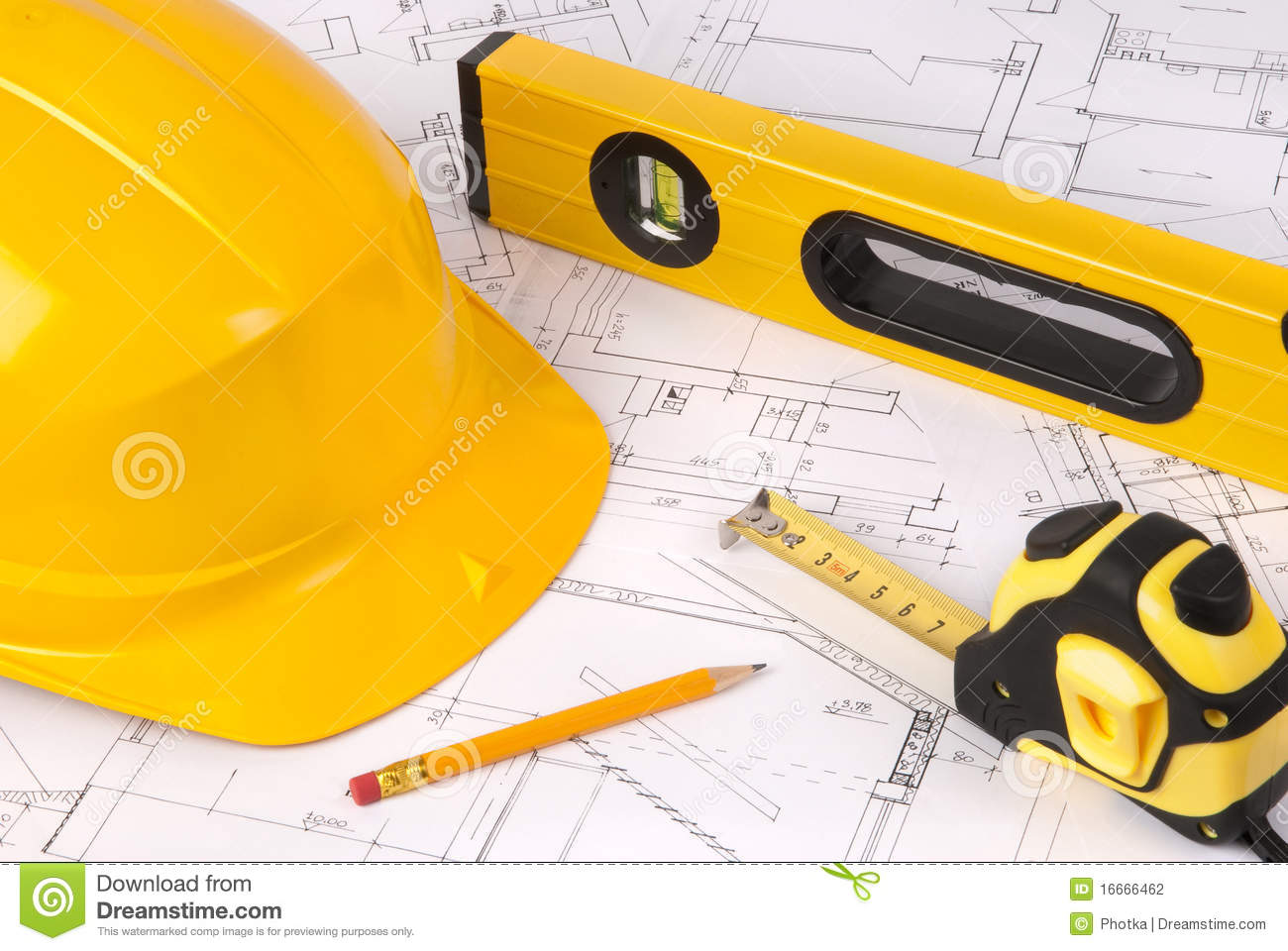 Building A House Stock Photography Image 16666462