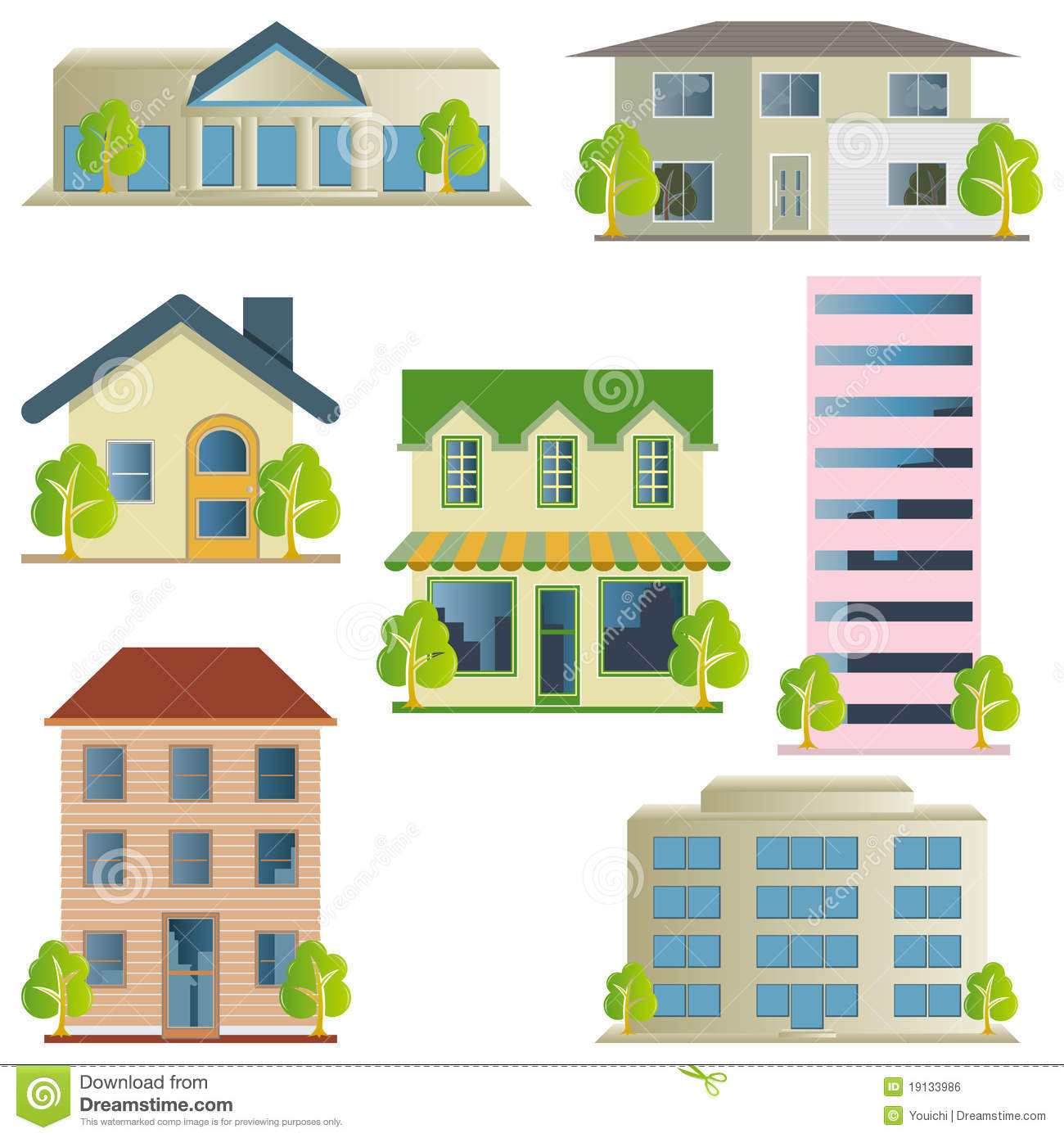2d Building Icons Www Pixshark Com Images Galleries