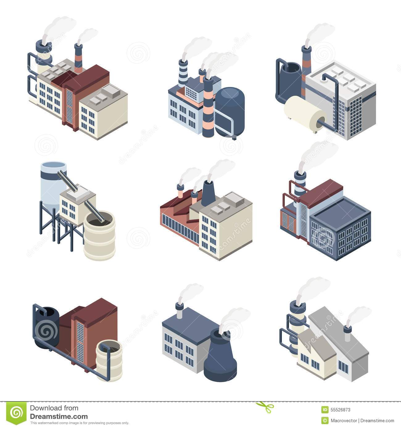 Building factories the trend of industrialization