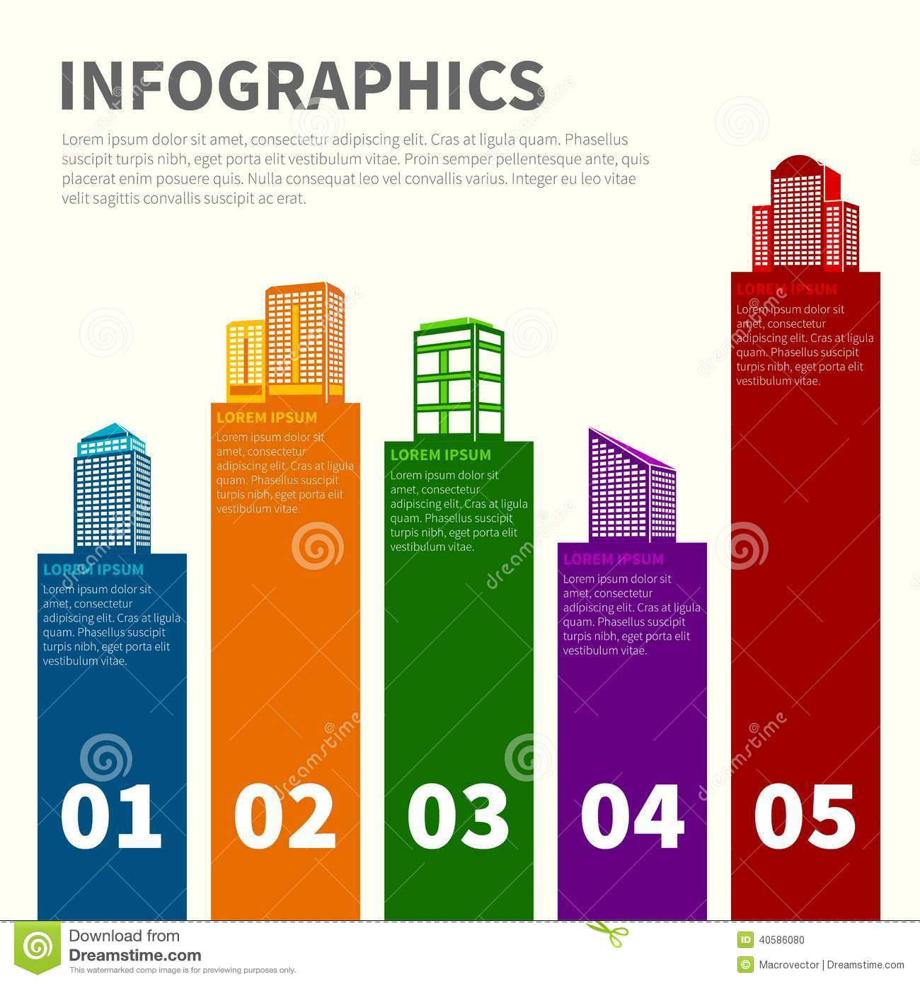 Stock Photo Building Infographic Set Business Modern Urban Office Private Buildings Infographics Vector Illustration Image40586080 on business office floor plans