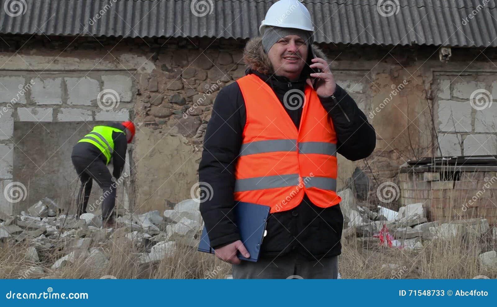 Hammering the bldg inspector