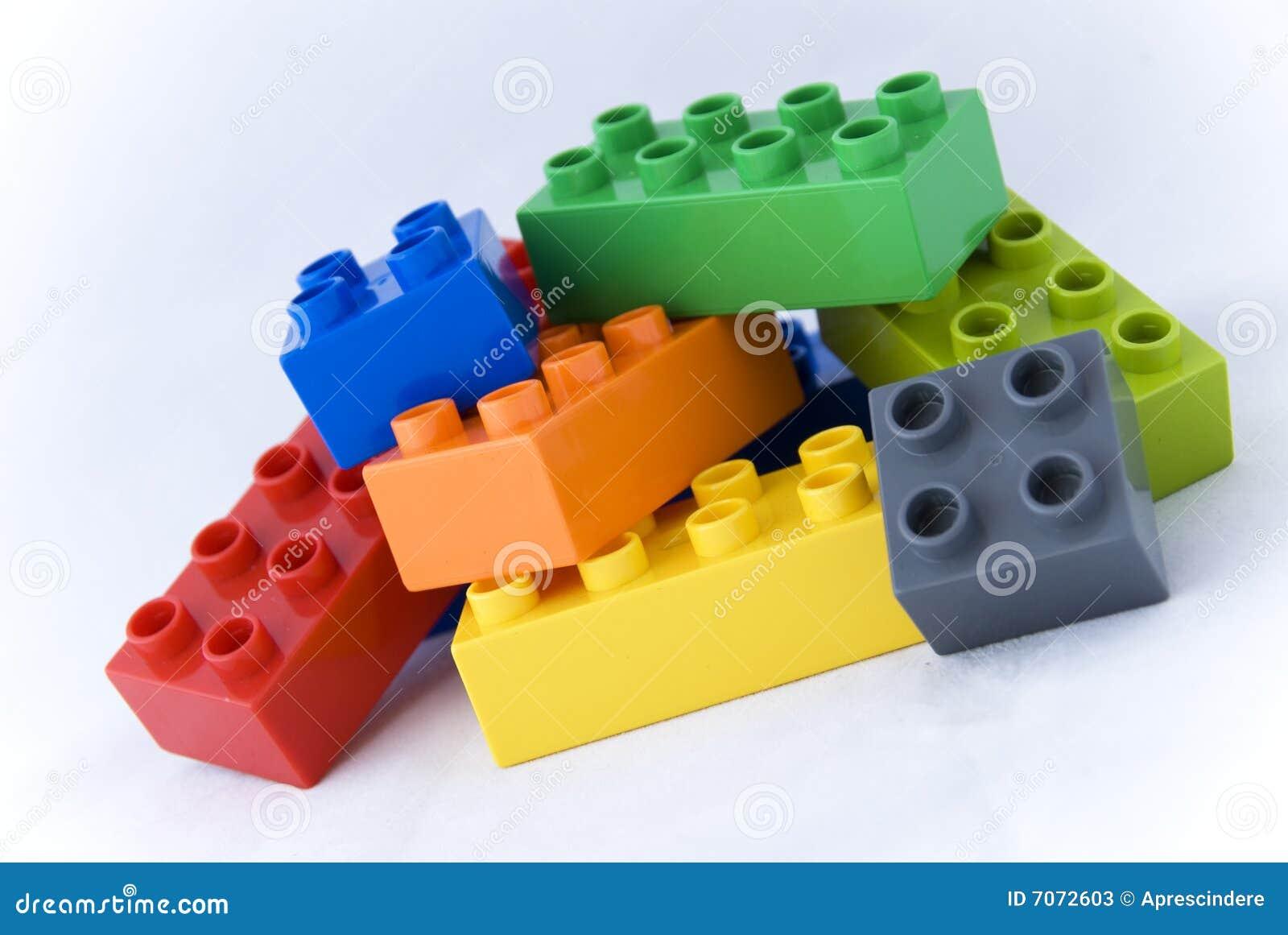 Brown Plastic Building Blocks