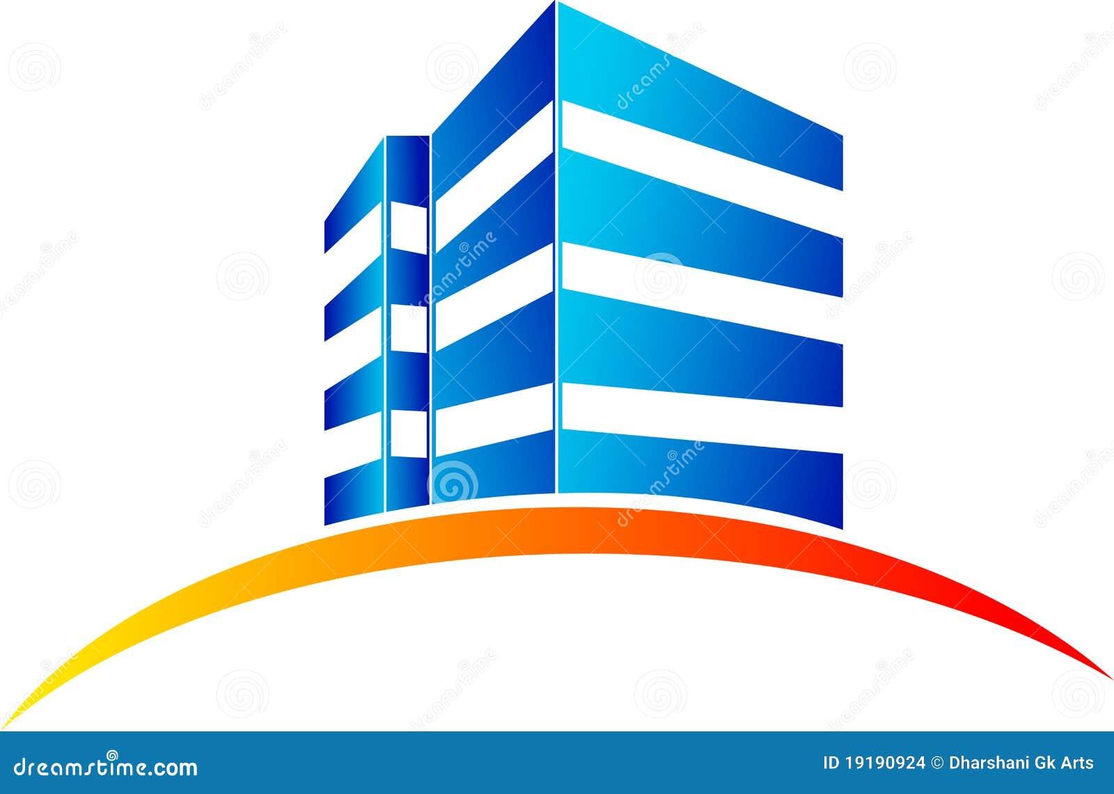Building Construction Graphics : Building logo stock vector illustration of ncity