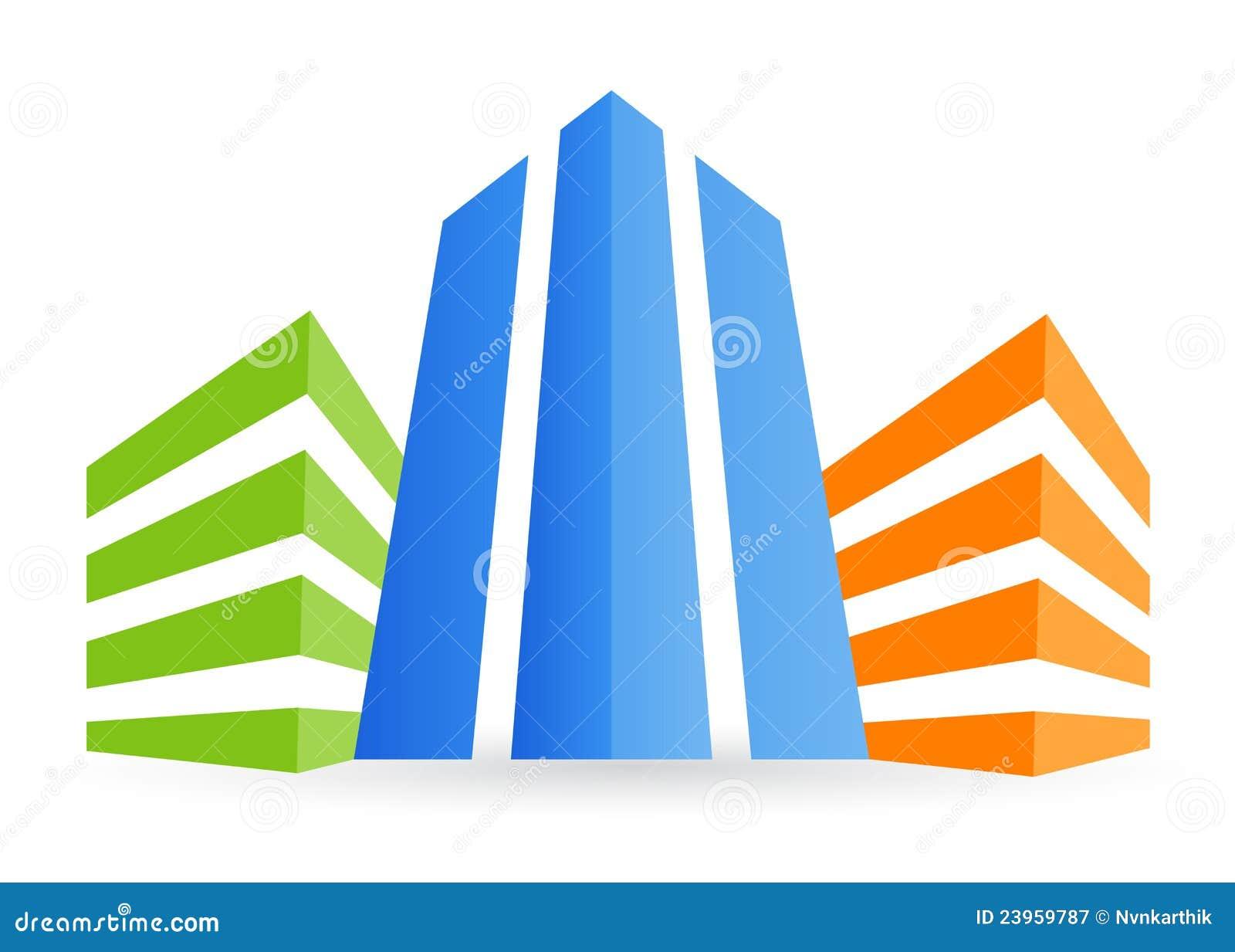 Logo Building Stock Photos - Image: 18328053