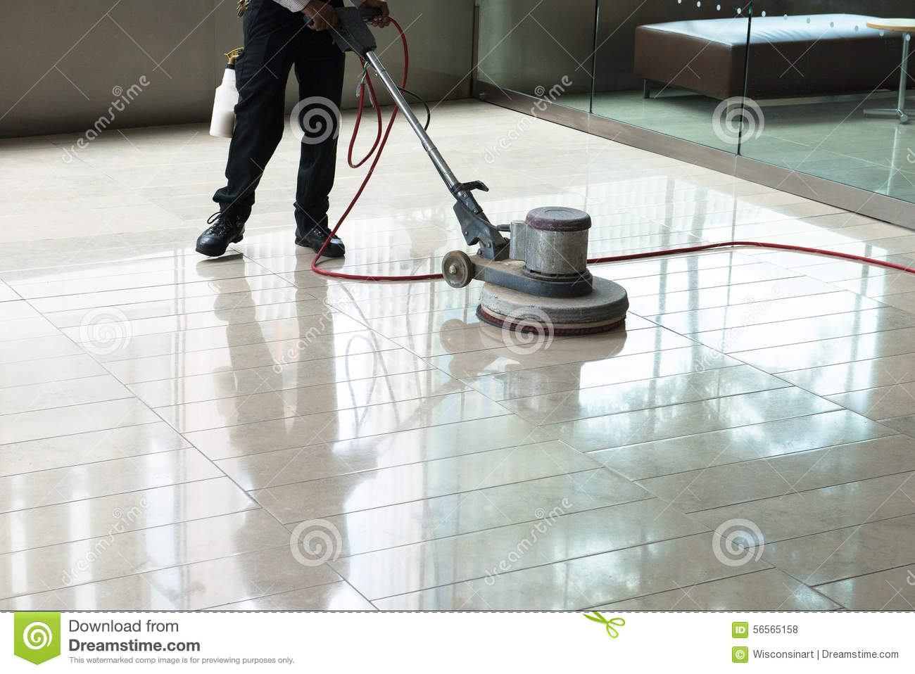 Building maintenance cleaning floor polishing stock photo image building maintenance cleaning floor polishing dailygadgetfo Images