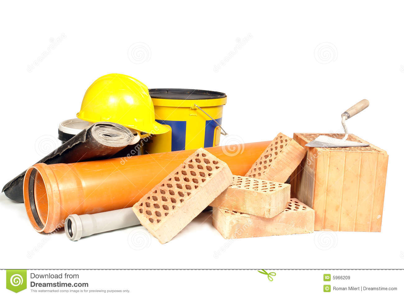 Building Construction Materials on Large House Plans