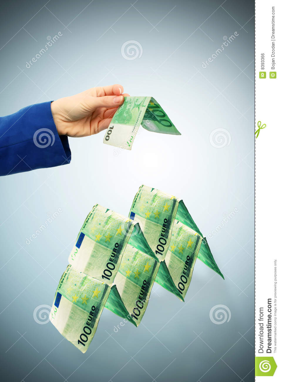 Building with money royalty free stock image image 8393366 for Free money to build a house