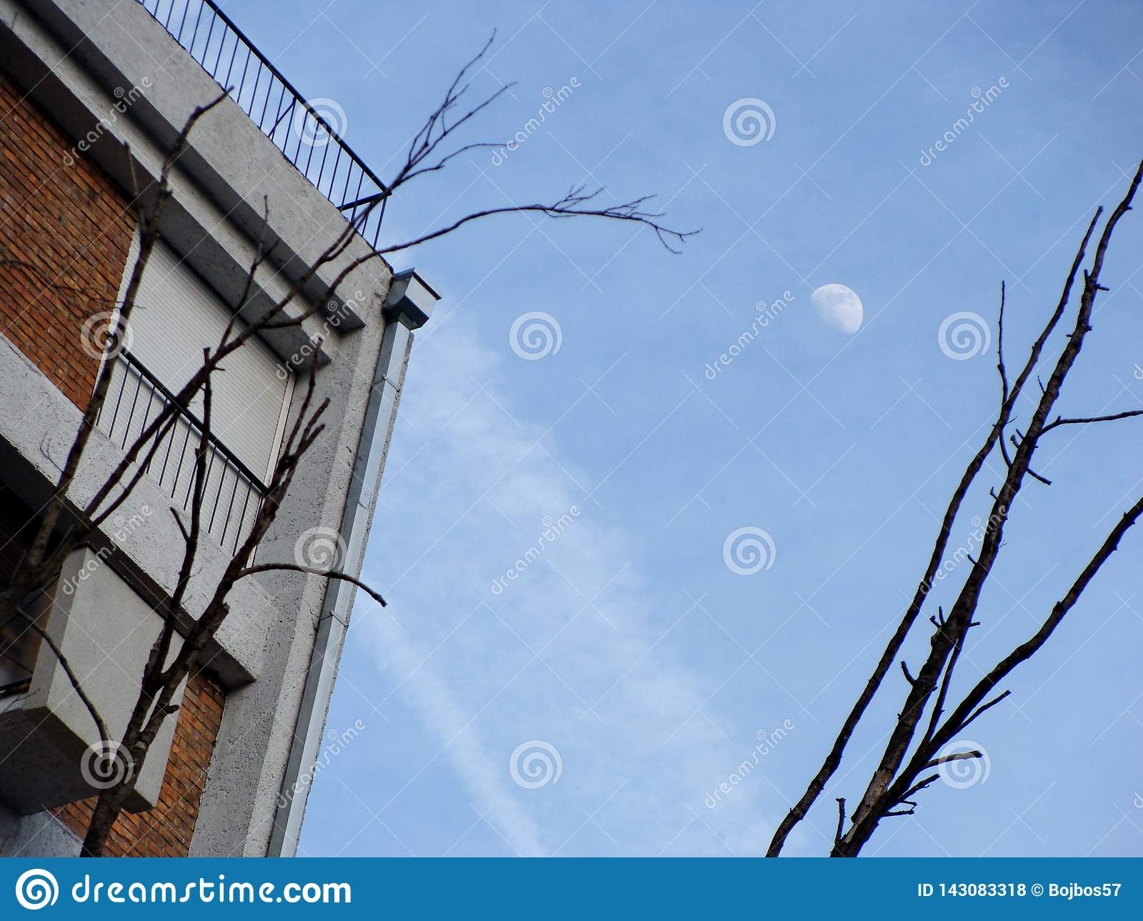 Building with the moon