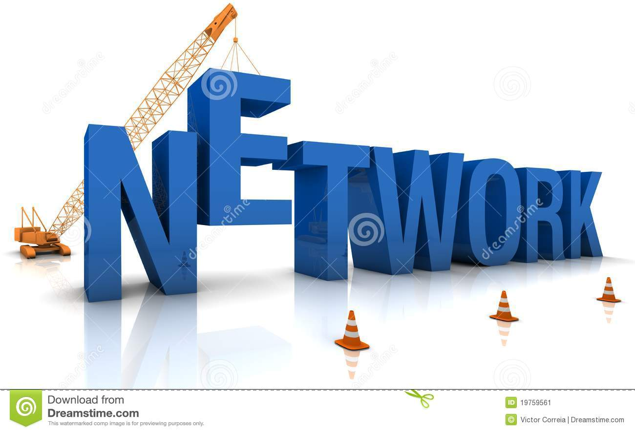 Building a network stock image image 19759561 for Contractors network