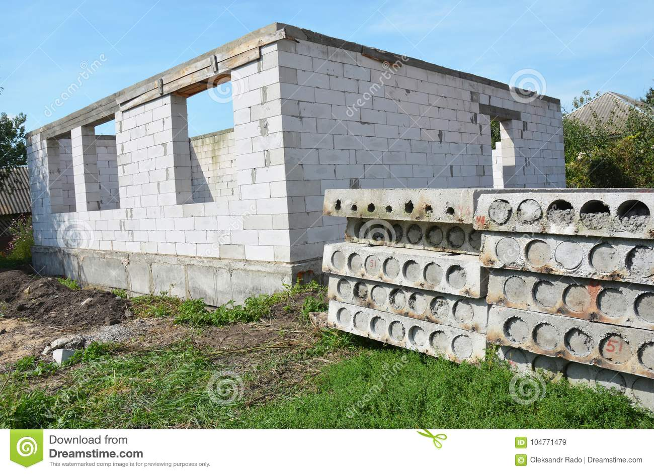 The foundation for the house of aerated concrete: advantages and disadvantages 46