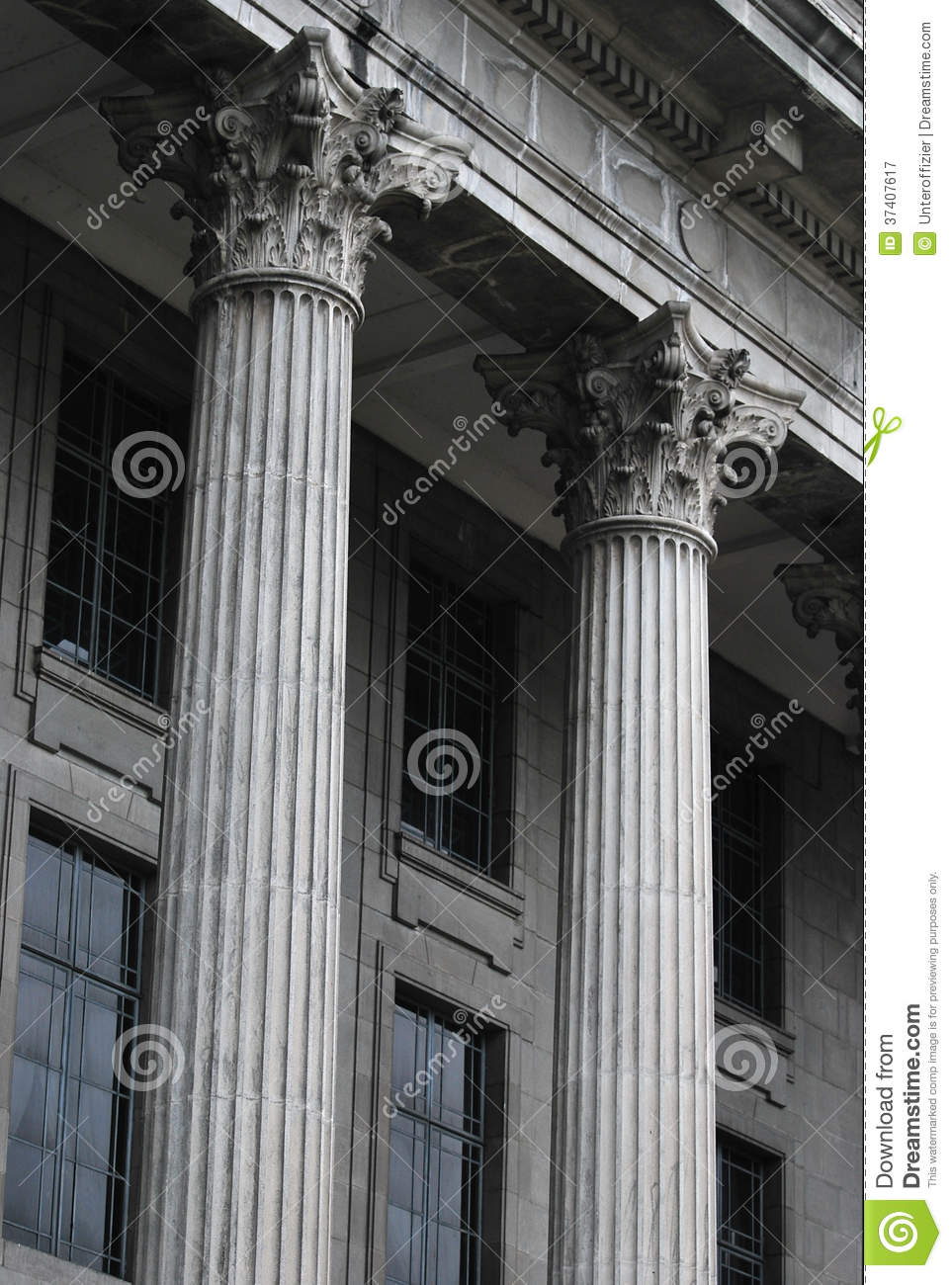 Building A House On Pillars : Building pillars royalty free stock photography image