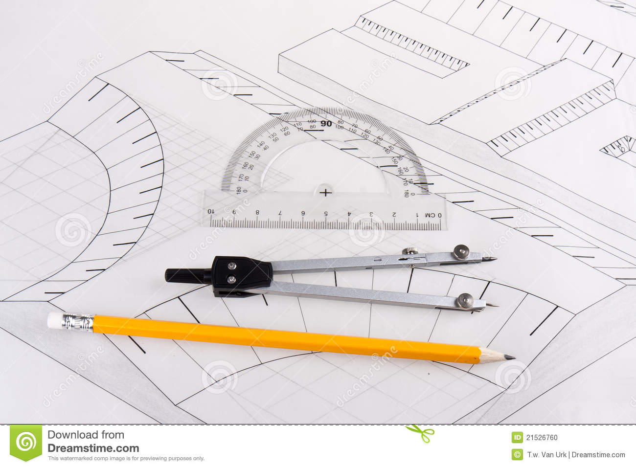 Building plan of a civil construction stock photo image for Building plans images