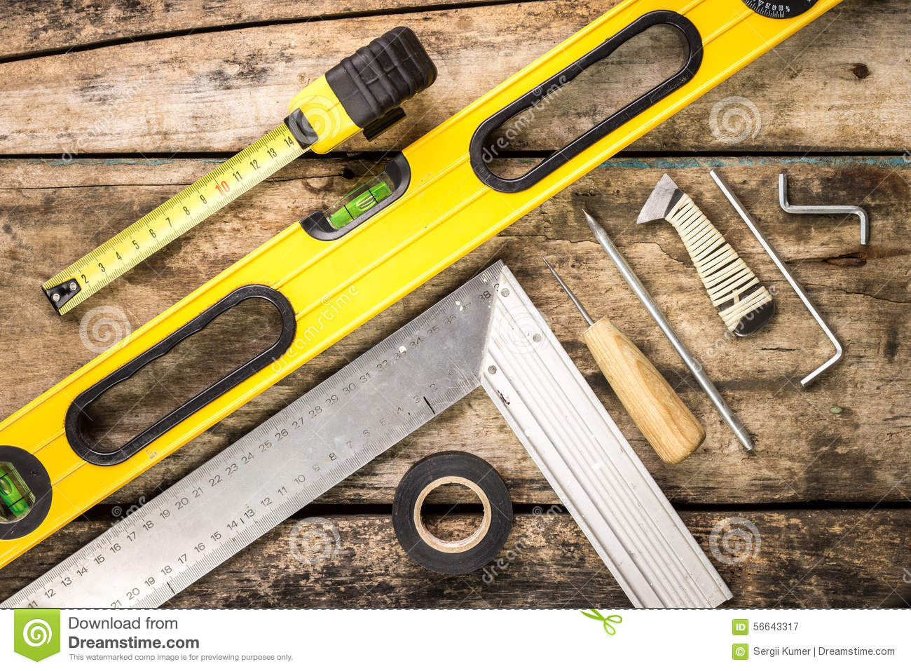 Building tools vector illustration for Tools to build a house
