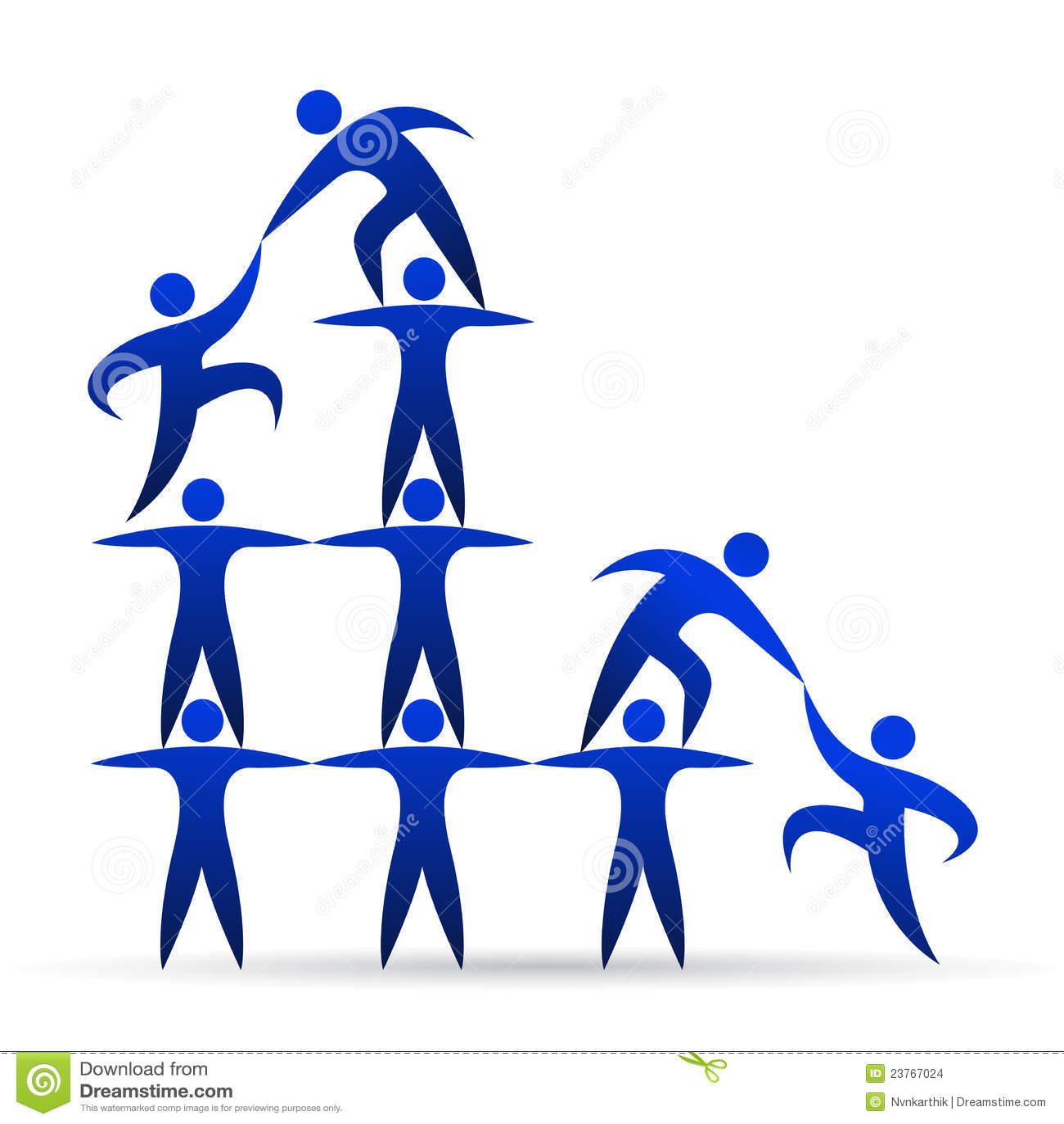 Building Teamwork Stock Images Image 23767024