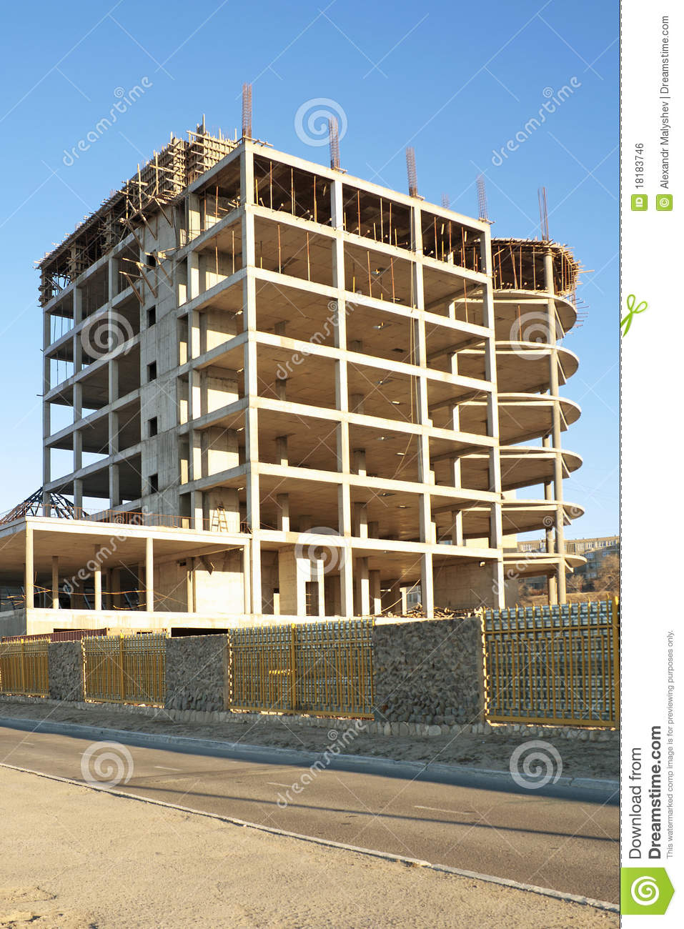 Building under construction royalty free stock image for Building under construction insurance