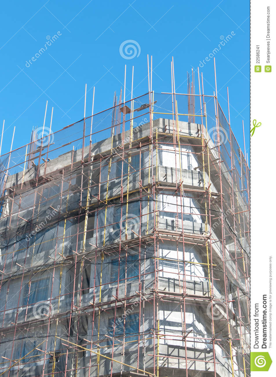 Building Under Construction Stock Image - Image: 22586241